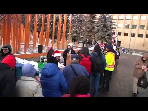 The Real Meaning of Christmas - Olympic Plaza Calgary 2015
