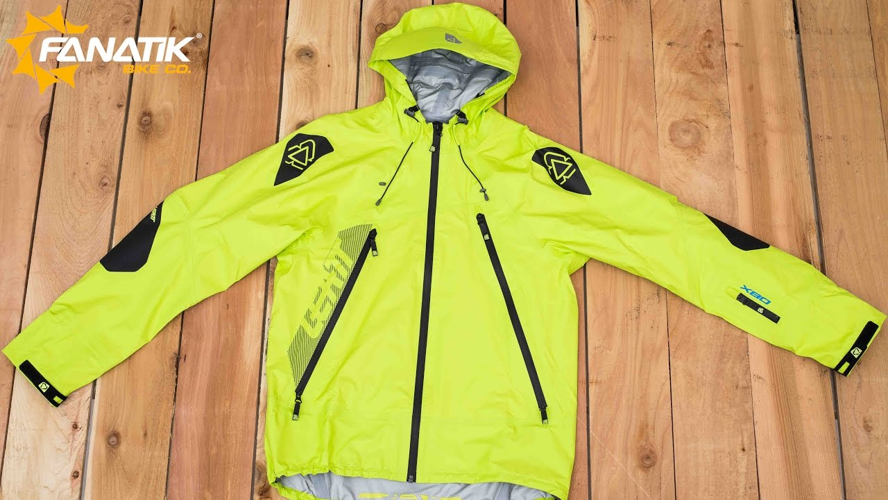 Leatt DBX 5.0 Rain Jacket Review at Fanatikbike.com - YouTube 9960230db