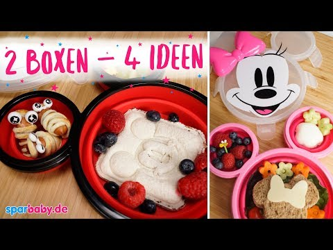 Disney Bento-Boxen - 4 süße Ideen für die Brotdose für Kinder
