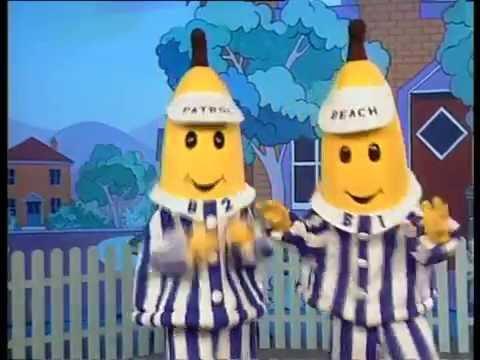 Bananas in Pyjamas: Banana Holiday Music Video (1993)