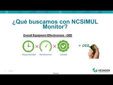 Comunicación y Monitorización de máquinas CNC en tiempo real [ES] | NCSIMUL Webinar
