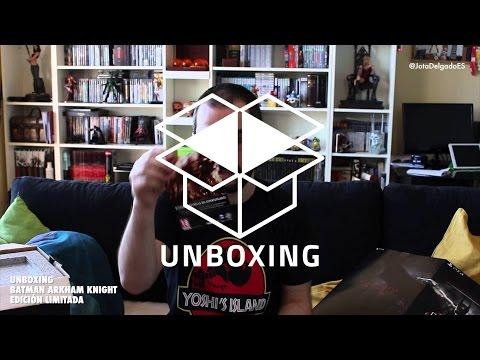 UNBOXING BATMAN ARKHAM KNIGHT EDICIÓN LIMITADA | JotaDelgado