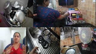 EVERYDAY NIGHT KITCHEN CLEANING IN RAMA SWEET HOME||NIGHT ROUTINE IN TELUGU