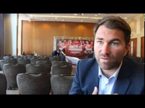 EDDIE HEARN ON BLACKWELL INJURY, CALLUM SMITH, ROCKY FIELDING, CARDLE-DODD, FRANK WARREN & BRIGGS