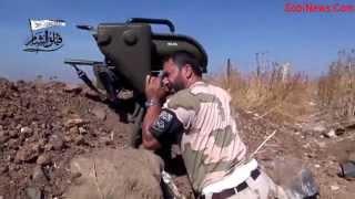 SYRIA 2015  Review  Сирия, обзор боевых действий Стрельба из ПТУР