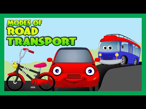 Modes of Transportation for Children - Road Transport for Kids | Kids Hut