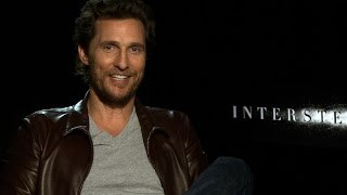 Matthew McConaughey on 'Interstellar' and Christopher Nolan as the best leader he's worked with