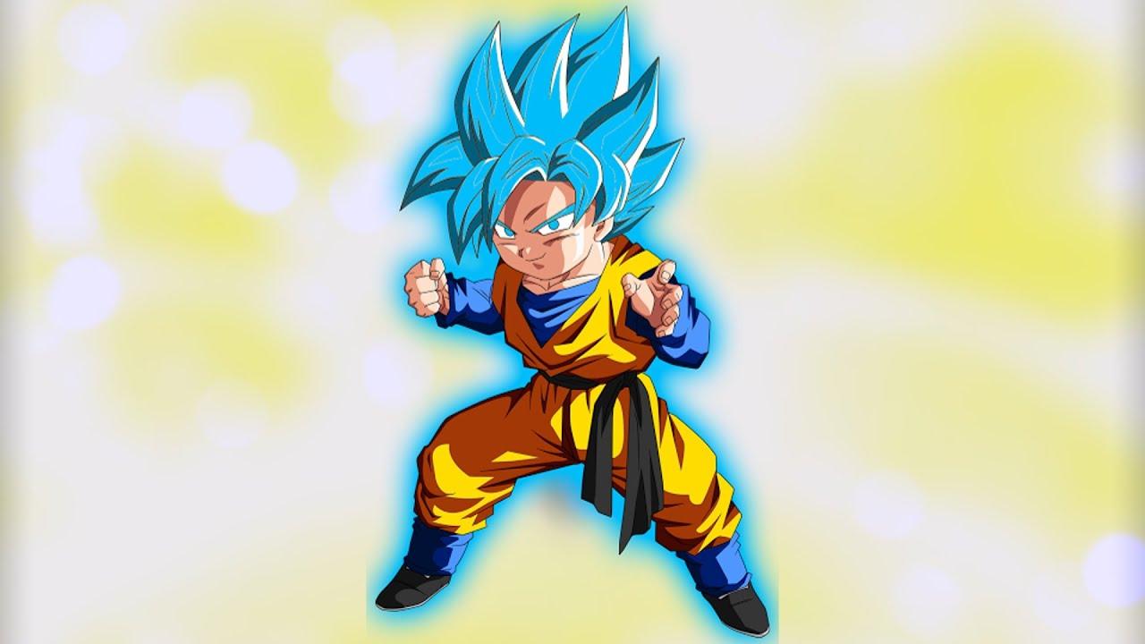 Gotens hidden power goten super saiyan blue new god mode - Sangoten super sayen 3 ...