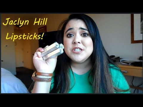 Jaclyn Hill Lipsticks....Swatches and Review thumbnail