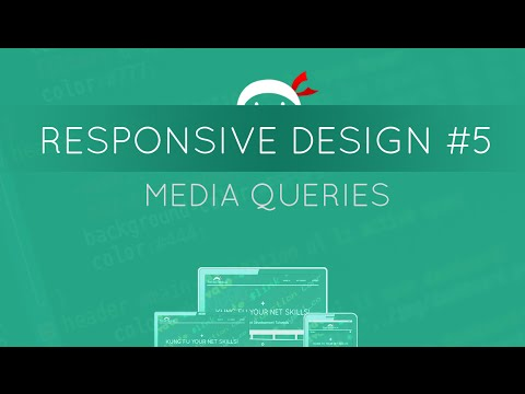 Responsive Web Design Tutorial #5 - Media Queries