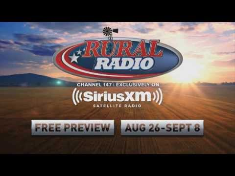 Rural Radio SiriusXM Channel 147 Free Preview