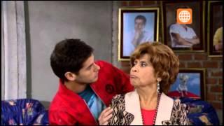 Fernanda discute con Nicolás y doña Nelly lo defiende
