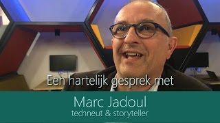 Een hartelijk gesprek met Marc Jadoul (volledig)