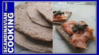Flatbraud - How To Make Icelandic Rye Flatbread