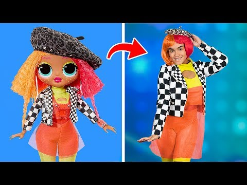LOL Amazing Surprise Dolls In Real Life / 10 LOL Amazing Surprise Clothes Ideas