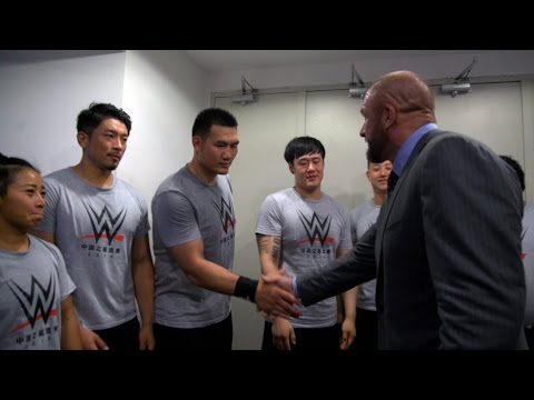 Hear from WWE's seven new Chinese recruits