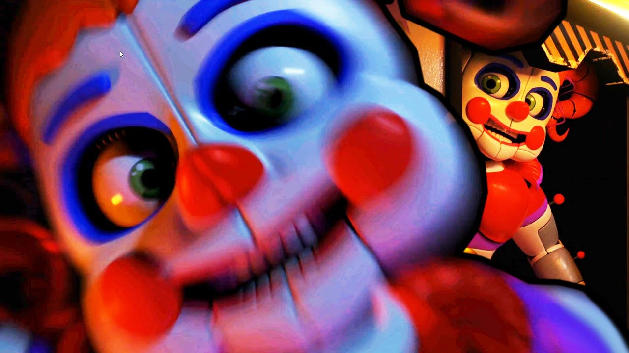 CIRCUS BABY IS ACTIVE! AND I RAN OUT OF POWER... || FNAF ...