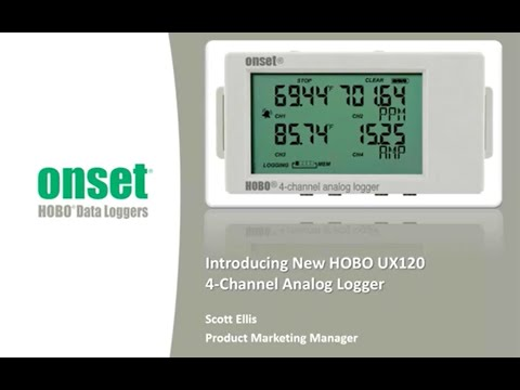 Introducing New HOBO UX120 4 Channel Analog Logger