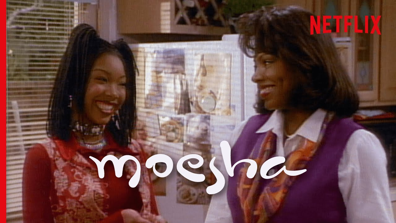 Moesha First Ever Scene - Moesha Oversleeps & Meet the Mitchell Family