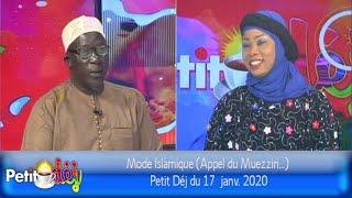 Mode Islamique (Appel du Muezzin...) - Petit Déj du 17  janv. 2020