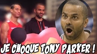 FREESTYLE BASKET DEVANT TONY PARKER !