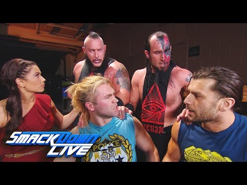 The Ascension challenge The Bludgeon Brothers for Breezango: SmackDown , Dec 26, 2017