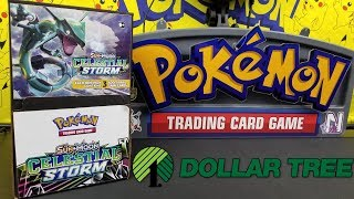 Opening 20 Celestial Storm Dollar Tree Packs of Pokemon Cards!