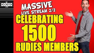 🔴 1500 SPINS for 1500 RUDIES 🎰 CELEBRATION Pt.2/2 ✪ BCSlots