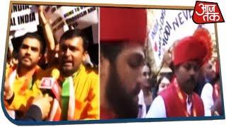 UNGA के बाहर शंखनाद के साथ Modi का स्वागत | देखिए उत्साह और उत्सव का अनोखा रंग!