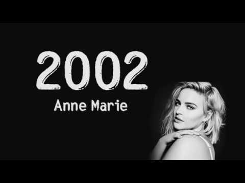 2002 - Anne Marie [ Lyrics Song ] HD