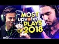 CS:GO - MOST UPVOTED PLAYS ON REDDIT OF 2018!(INSANE CLUTCHES & FUNNY MOMENTS)