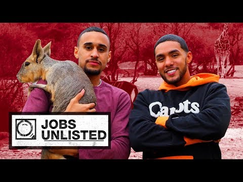 Brother Nature Shows How To Be An Animal Caretaker | Jobs Unlisted
