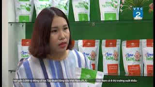 Mầm đậu nành nguyên xơ Linh Spa trên kênh VTC2