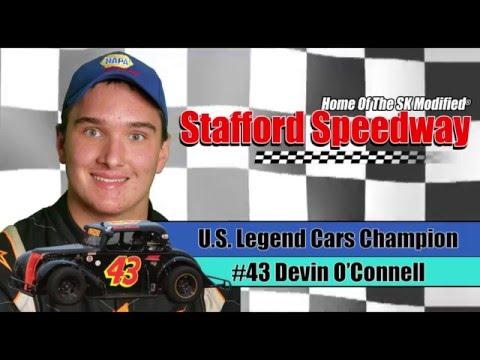 2015 U.S. Legend Cars Champion -  Devin O