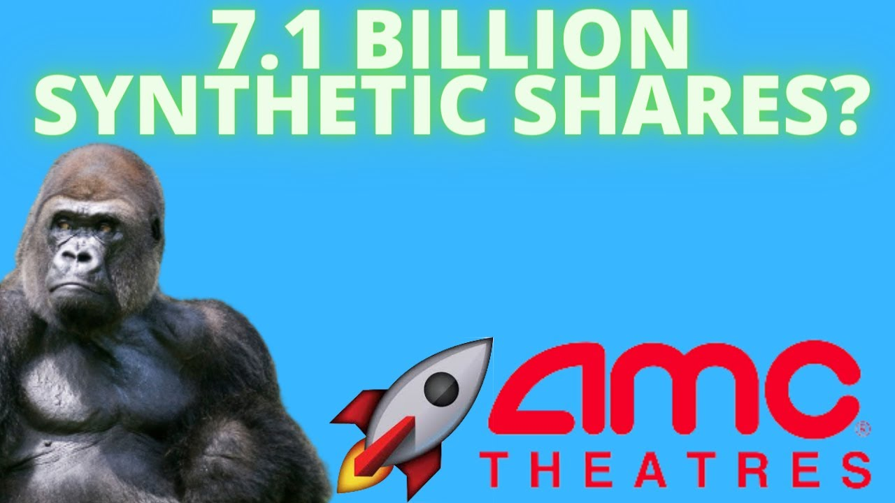 AMC HAS 7.1 BILLION SYNTHETIC SHARES? - SHARE RECALL POTENTIAL IS RISING! - (Amc Stock Analysis)