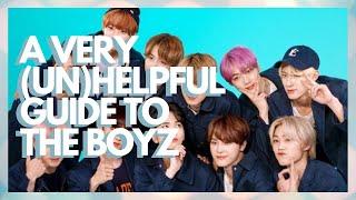 a very (un)helpful guide to the boyz