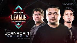 Free Fire League 2020 - Clausura | Grupo B | Jornada 7