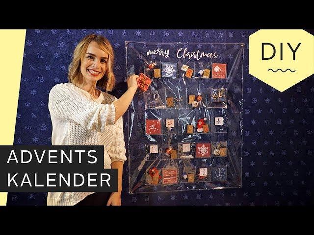 DIY: Adventskalender aus Folie zum selber Befüllen | Roombeez – powered by OTTO