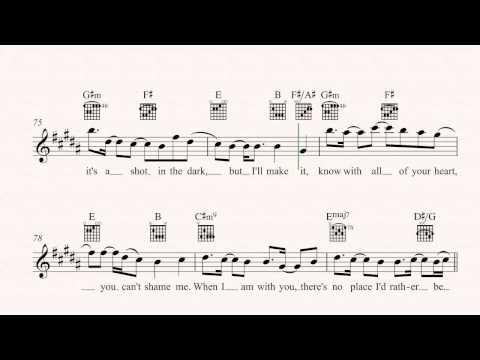 Guitar - Rather Be - Clean Bandit Sheet Music, Chords, & Vocals