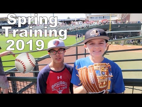 First Spring Training Game of 2019