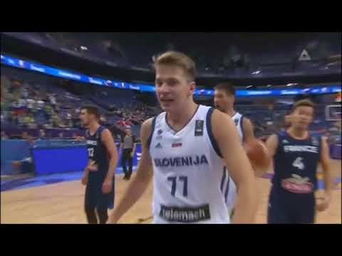 Luka Dončić Full Highlights vs France | 15 PTS 9 RBS | Slovenia 95:78 France | Eurobasket 2017