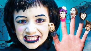 La Familia Dedo Version Halloween   La Familia Monstruo