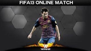 FIFA 13 - Match online - Les gestes techniques de wakE :P