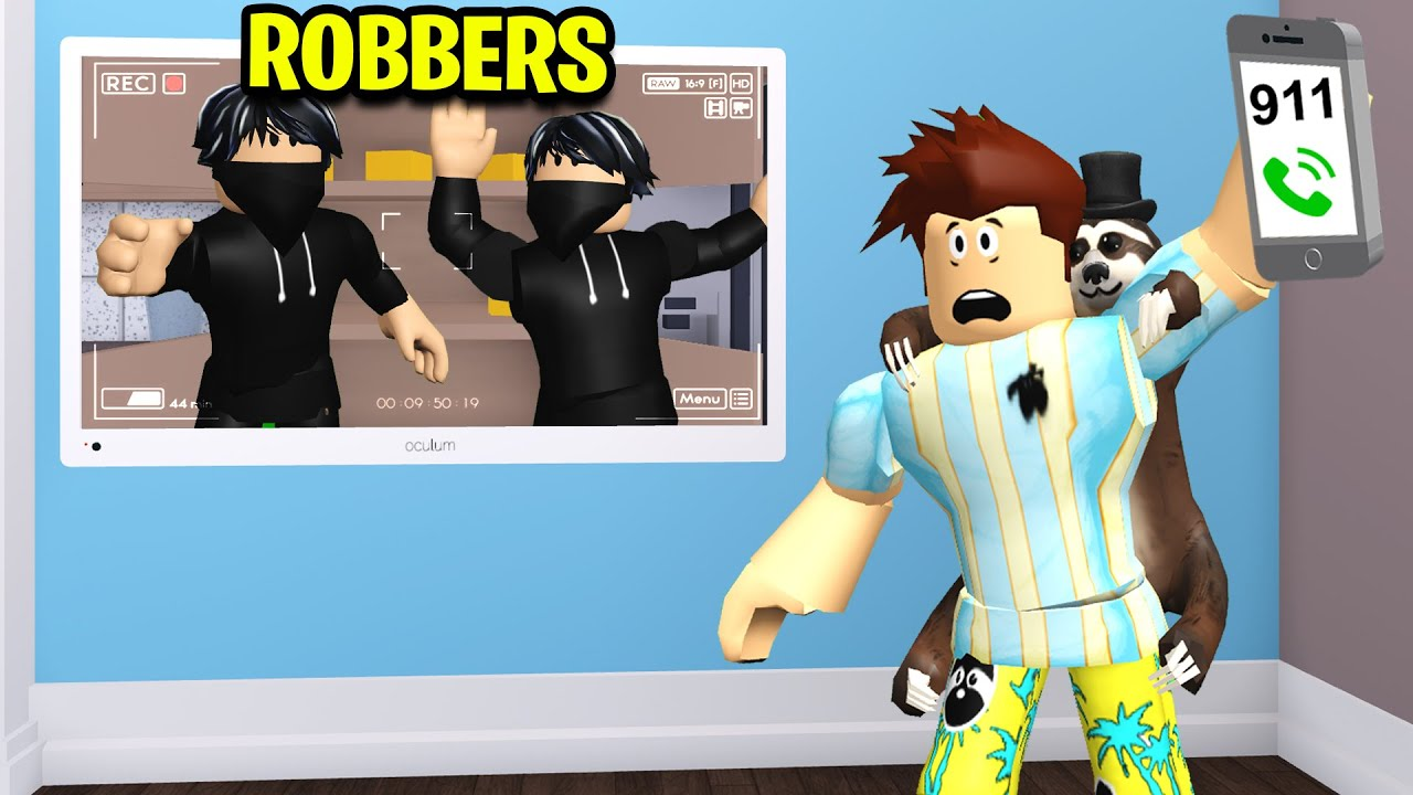 I Called Police To Arrest Roblox Robbers..