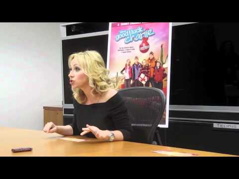 LEIGH ALLYN BAKER On the Good Luck Charlie Christmas Movie!