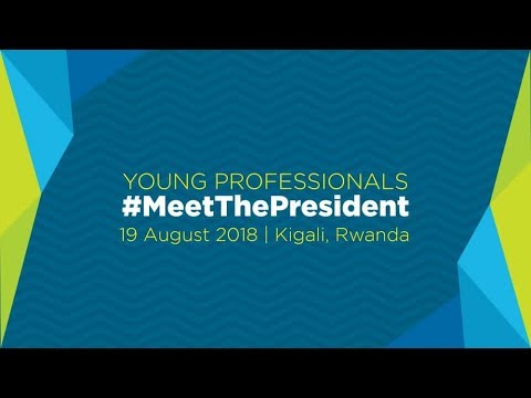 Young Professionals #MeetThePresident-Interactive Session