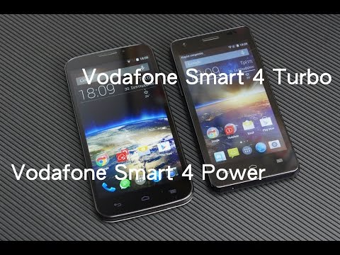 Vodafone Smart 4 Power & Smart 4 Turbo hands-on (Greek)