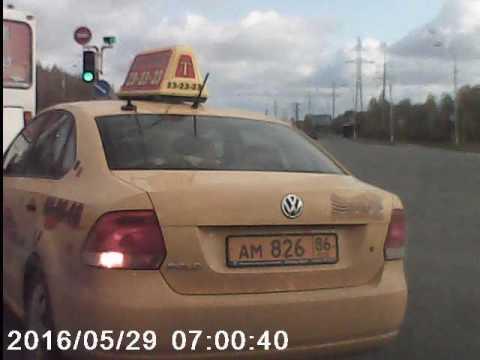 Как ездят таксисты Нижневартовска