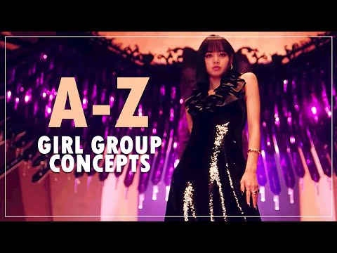 a-z of girl group concepts