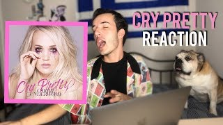 """CRY PRETTY"" Carrie Underwood! ALBUM REACTION"